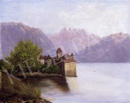 Unknown painter - The castle of sion by the Geneva Lake
