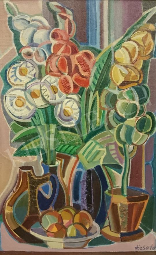 Eladó  Józsa János - Gyümölcs és virág festménye