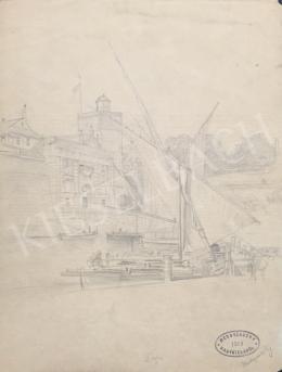 Mednyánszky, László - Ships