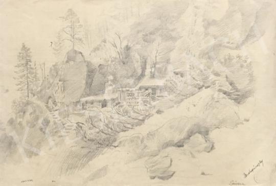 Mednyánszky László - Sersera festménye