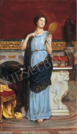 E. Lucardi jelzéssel - Hölgy tükörrel