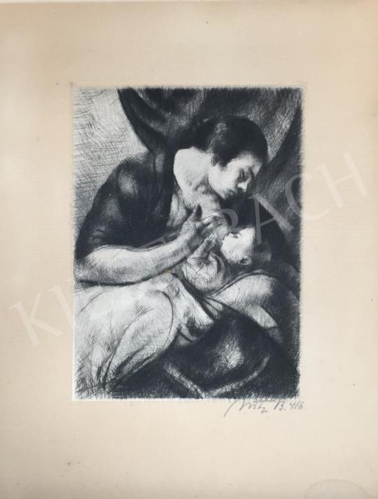 For sale Uitz, Béla - Motherhood 's painting