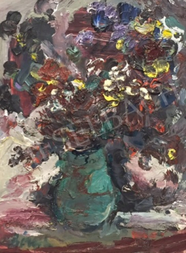 For sale  Bényi, László - Still Life of Flowers 's painting