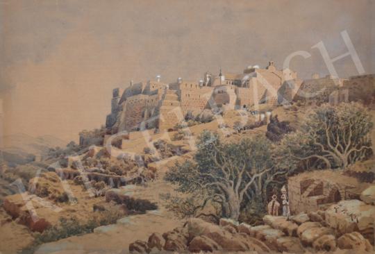 Perkó Anton - Betlehem festménye