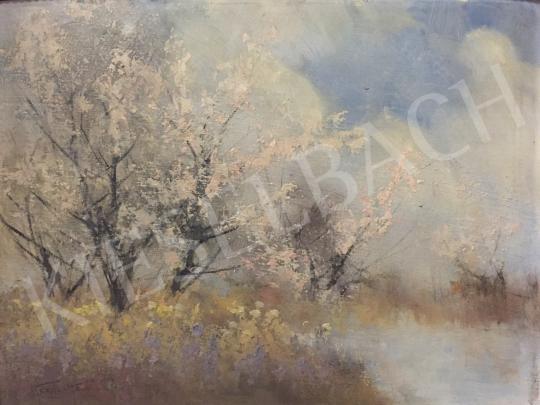 For sale Kézdi-Kovács, László - Blooming Trees 's painting