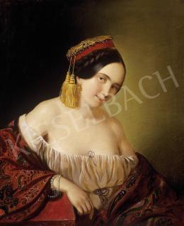 Ismeretlen festő - Görög hölgy