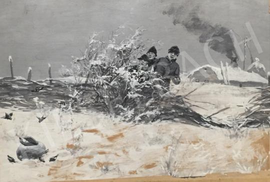 Eladó  Pataky László - Madárcsapda festménye