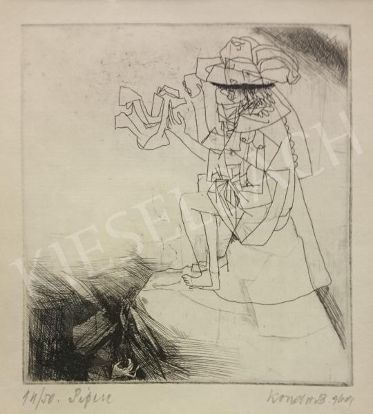 Eladó Kondor Béla - Pipere, 1969 festménye