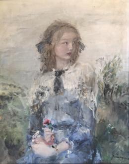 Náray Aurél - Fiatal lány