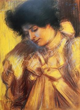 Rippl-Rónai József - Párizsi hölgy (Lazarine), 1896
