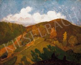 Rippl-Rónai József - Banyuls-i táj ( Őszi kép)