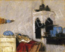 Rippl-Rónai József - A szakácsnő gyereke mindig sír, 1902 körül