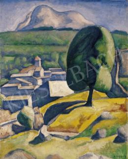 Czigány Dezső - Provence, késő 1920-as évek