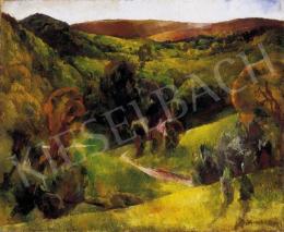 Aba-Novák Vilmos - Felsőbányai táj, 1926