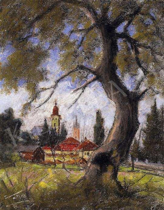 Sztelek Norbert - Nagybánya látképe   7. Aukció aukció / 134 tétel