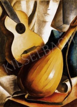 Gábor Jenő - Mandolinos csendélet, 1933
