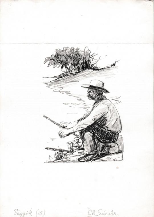 Eladó  Ék Sándor - Vagyik festménye