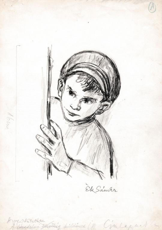 Eladó  Ék Sándor - A kisfú festménye