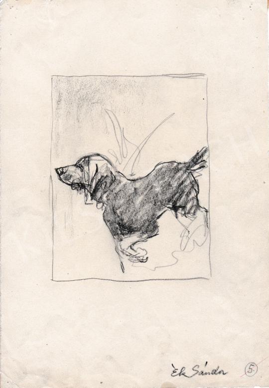 For sale  Ék, Sándor (Alex Keil) - Dog 's painting