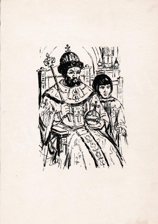 For sale  Ék, Sándor (Alex Keil) - The Emperor 's painting