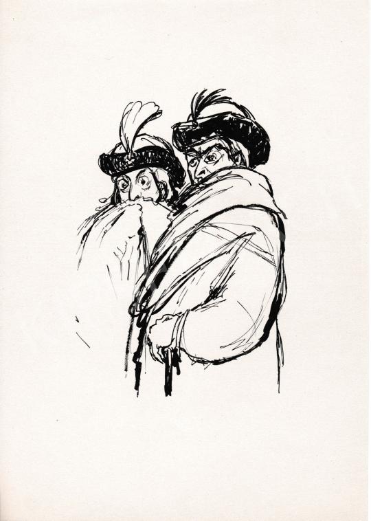 For sale  Ék, Sándor (Alex Keil) - Nobles I. 's painting