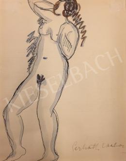 Perlrott Csaba, Vilmos - Standing Female Nude