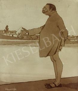 Faragó Géza - Fényes Adolf folyóparton