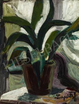 Nemes Lampérth József - Csendélet (Kaktusz), 1910