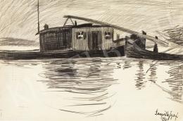 Nemes Lampérth József - Uszály és csónak, 1910