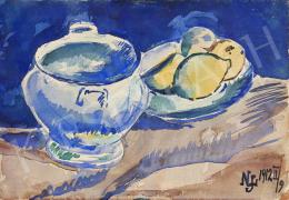 Nemes Lampérth József - Csendélet citromokkal I., 1912