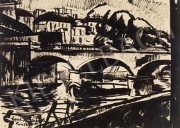 Nemes Lampérth József - Párizsi híd, 1913