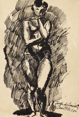 Nemes Lampérth József - Női akt, 1914