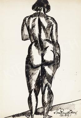 Nemes Lampérth József - Női akt, 1916
