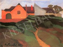 Nemes Lampérth József - Tabáni részlet, 1916