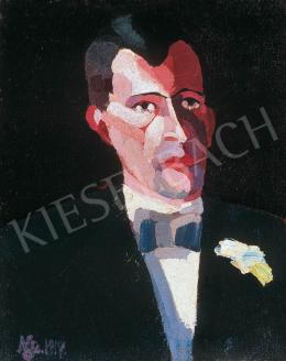 Nemes Lampérth József - Férfiportré, 1917