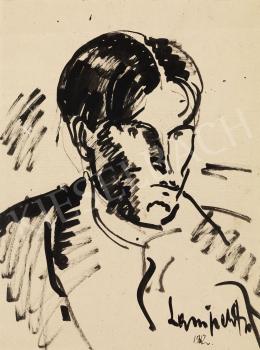 Nemes Lampérth József - Önarckép, 1912
