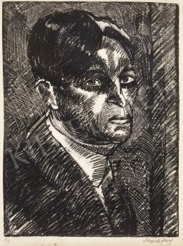 Nemes Lampérth József - Önarckép, 1920