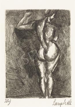 Nemes Lampérth József - Női hátakt, 1920