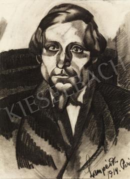 Nemes Lampérth József - Gábor Vigh István arcképe, 1914