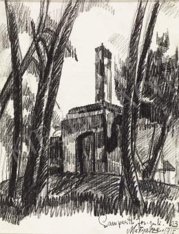 Nemes Lampérth József - Épületrom, 1915