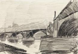Nemes Lampérth József - Margit-híd, 1910