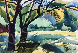 Nemes Lampérth József - Két fa, 1912