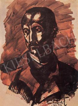 Nemes Lampérth József - Férfiarckép, 1922