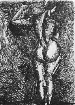 Nemes Lampérth József - Álló női akt, 1920