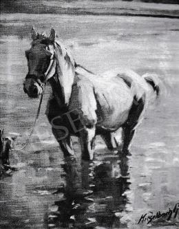 Kieselbach Géza - Ló a vízben, 1935-1949