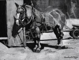 Kieselbach Géza - Lószerszámokkal, 1914