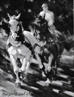 Kieselbach Géza - Lovas, 1950-1955
