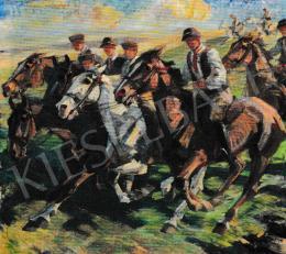 Kieselbach Géza - Lovasok, 1949