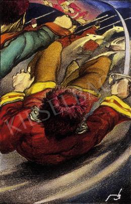 Jaschik Álmos - Csatában
