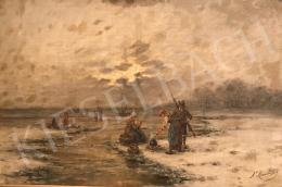 F. Münsterfeld, end of the 19th century - Fishing